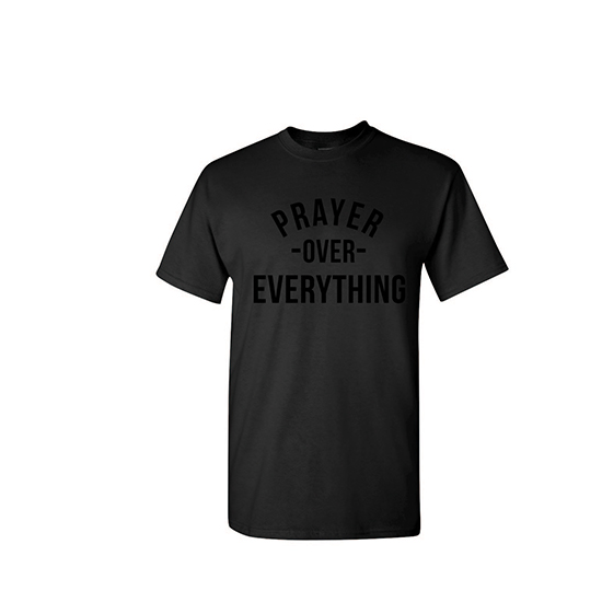 Pray Over Everything - Black On Black
